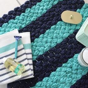 коврики для ванной комнаты идеи оформления