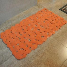 коврики для ванной комнаты идеи вариантов