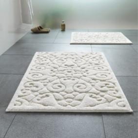 коврики для ванной комнаты идеи видов