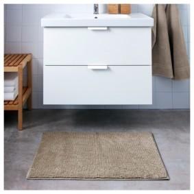 коврики для ванной комнаты идеи виды