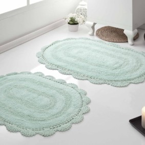 коврики для ванной комнаты обзор