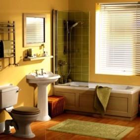 коврики для ванной комнаты оформление идеи