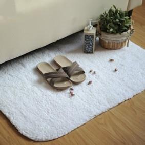 коврики для ванной комнаты варианты фото