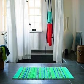 коврики для ванной комнаты варианты идеи