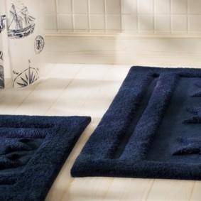 коврики для ванной комнаты виды идеи