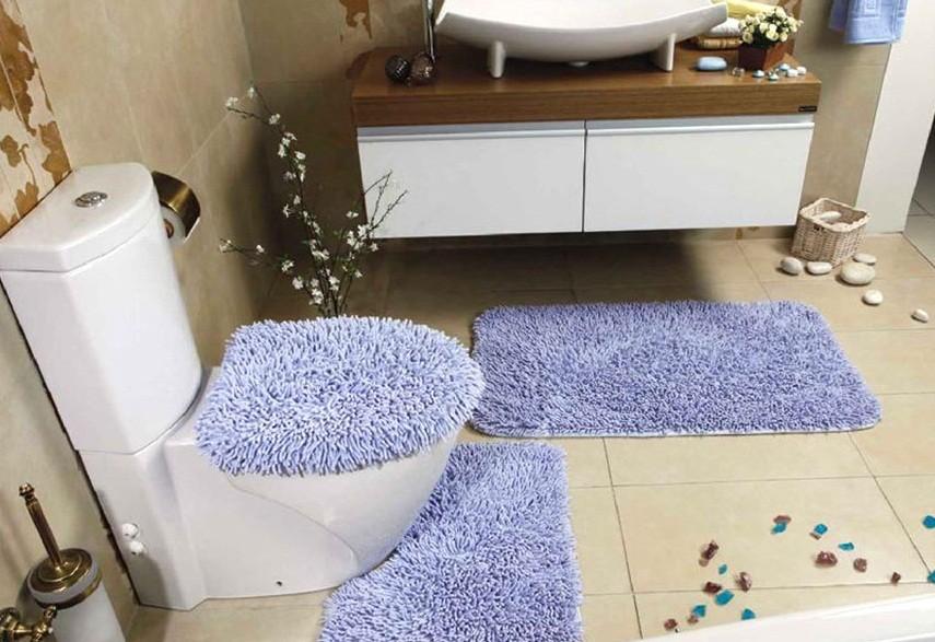 коврики для ванной комнаты виды