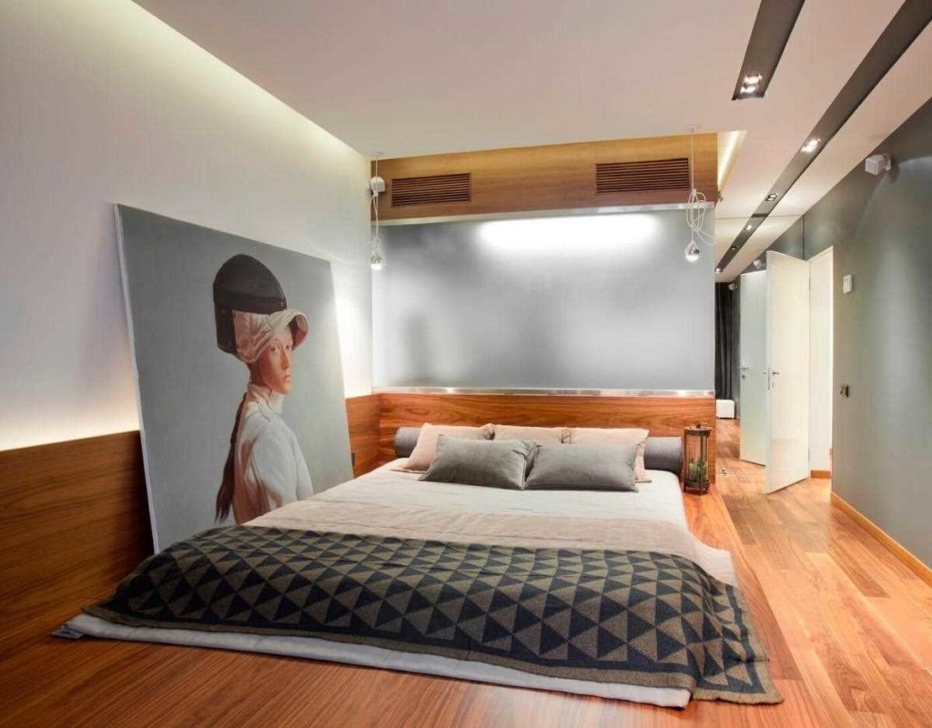 Декор спальни для убежденного холостяка