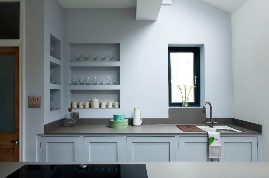 кухни с нишей в панельном доме