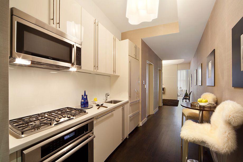 кухня без окон фото декор