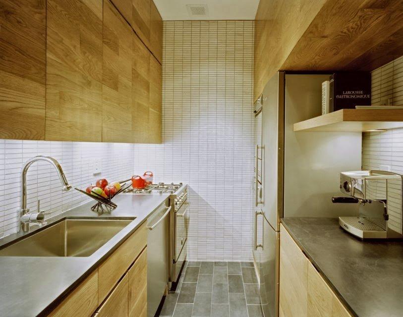 кухня без окон фото дизайна