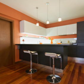 кухня без окон идеи декор