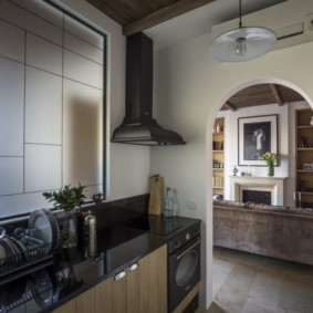 кухня без окон интерьер идеи