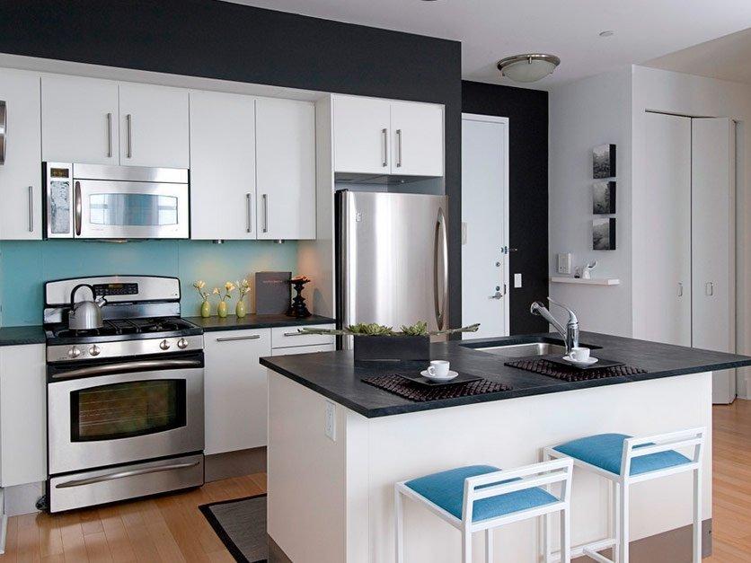 кухня прихожая фото дизайн
