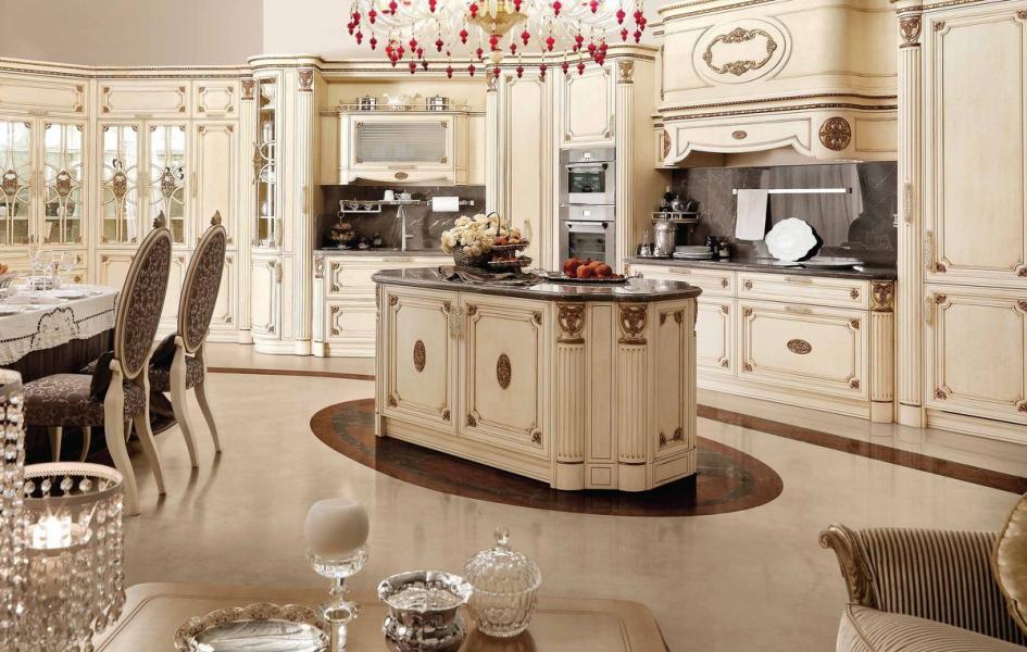 кухня с патиной декор фото