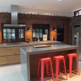 кухня с патиной дизайн