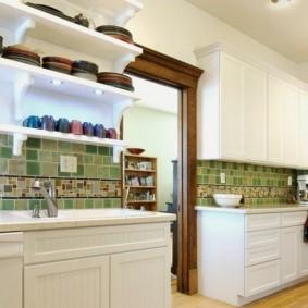 кухня с патиной дизайн фото