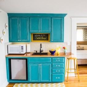 кухня с патиной фото декора