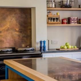 кухня с патиной фото идеи