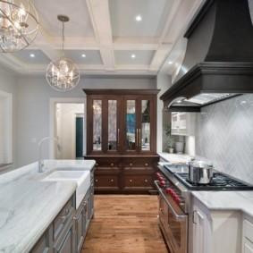 кухня с патиной идеи дизайна