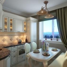 кухня в панельном доме фото виды