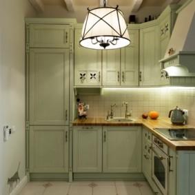 кухня без окон декор фото