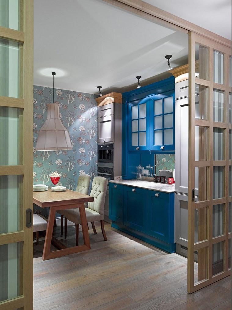 кухня без окон декор идеи