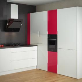 кухня без окон дизайн