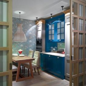 кухня без окон фото оформления