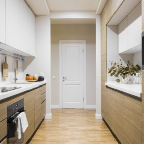 кухня без окон фото вариантов