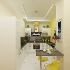 кухня без окон фото варианты
