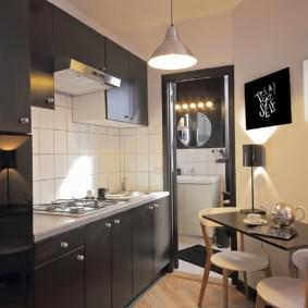 кухня без окон идеи дизайн