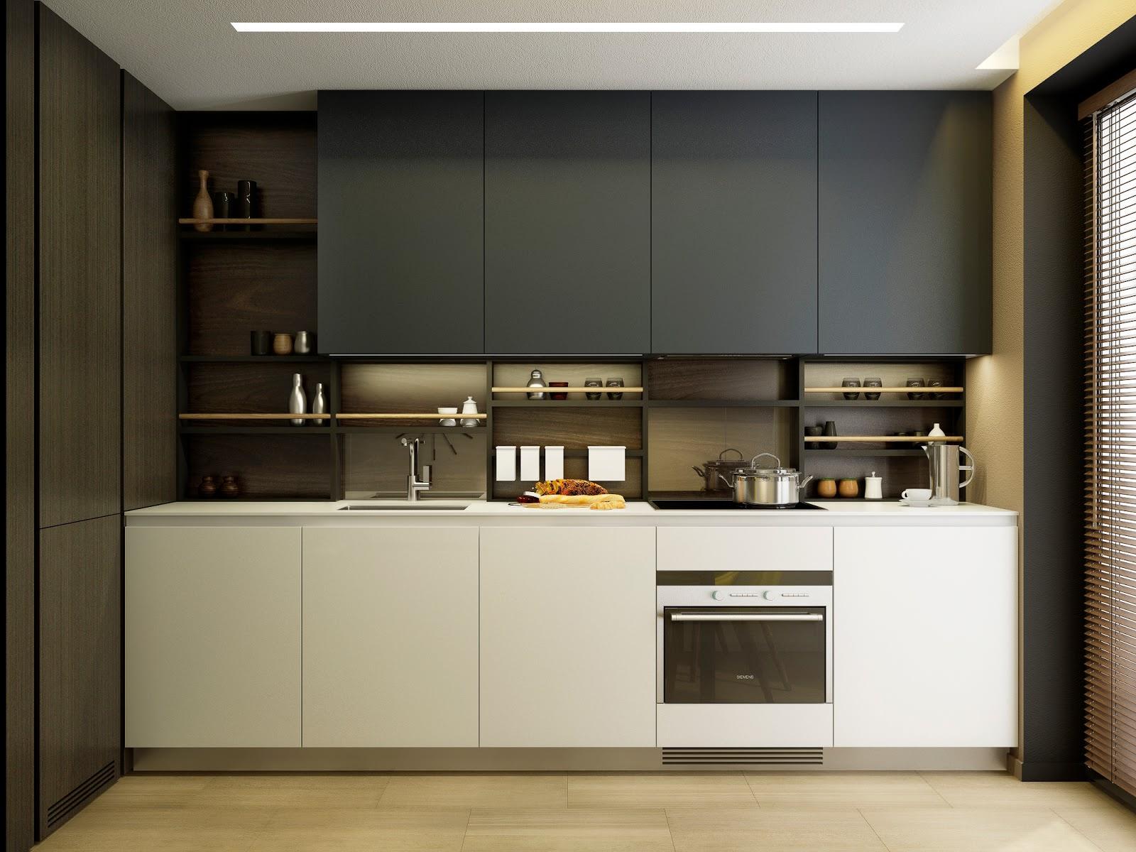 кухня без окон идеи дизайна