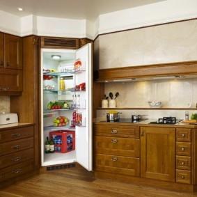 кухня без окон идеи оформление