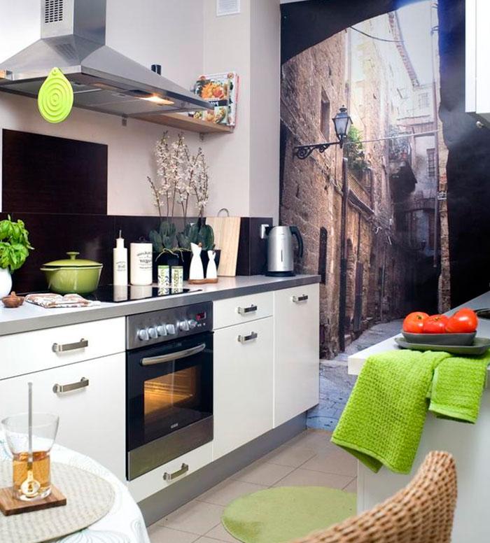 кухня без окон идеи вариантов