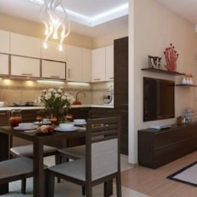 кухня без окон идеи видов