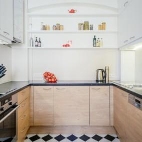 кухня без окон варианты фото