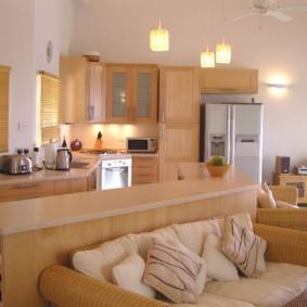кухня прихожая дизайн фото