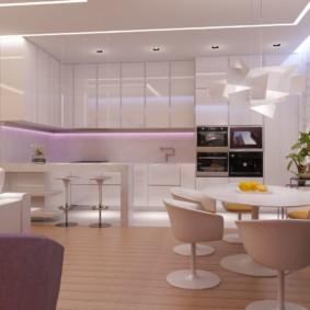 кухня прихожая фото дизайна