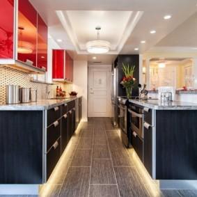 кухня прихожая фото виды
