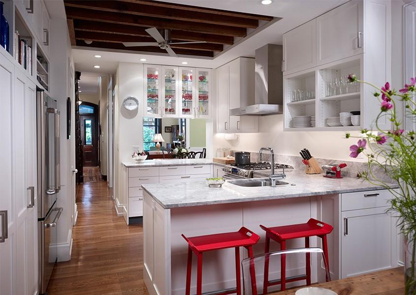 кухня прихожая идеи дизайн