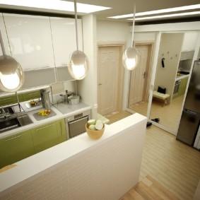 кухня прихожая идеи фото