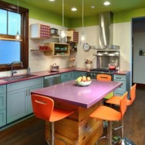 кухня с окном в рабочей зоне идеи варианты