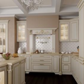 кухня с патиной декор идеи