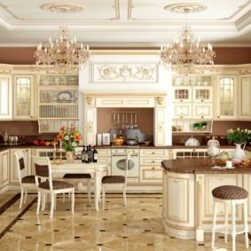 кухня с патиной дизайн идеи