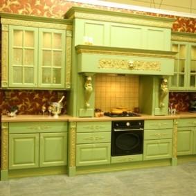 кухня с патиной фото декор