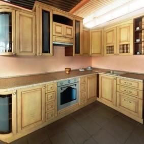 кухня с патиной фото дизайна