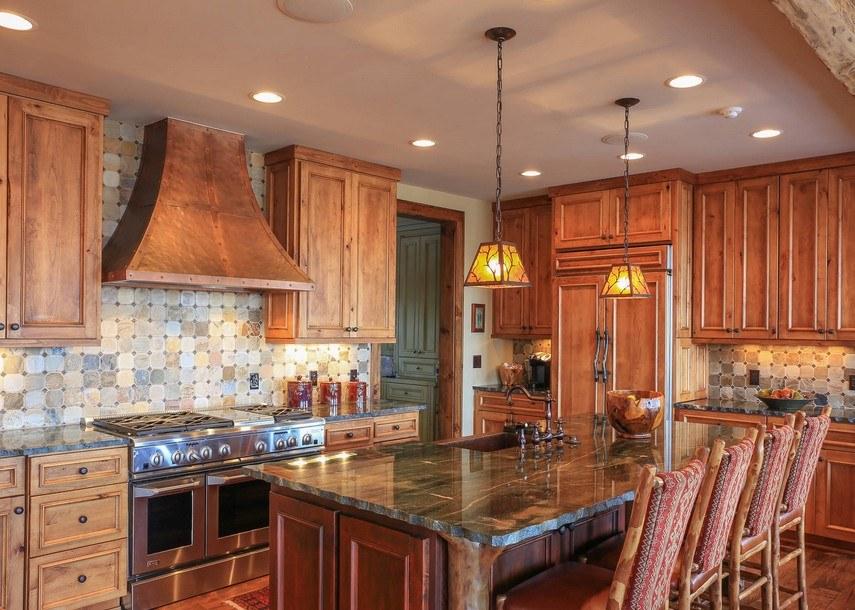 кухня с патиной фото оформления