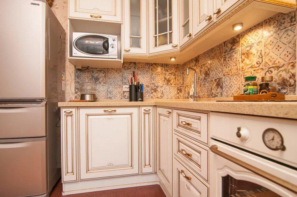 кухня с патиной фото вариантов