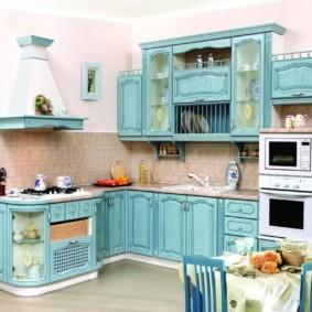кухня с патиной фото варианты