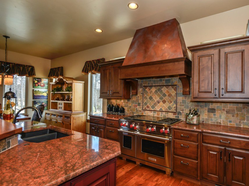 кухня с патиной фото виды